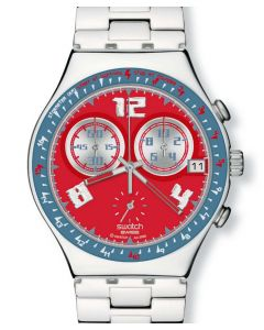 Swatch Irony Chrono Rosso Furore YCS494G