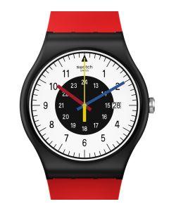 Swatch Originals New Gent Rouge & Noir SO32B106