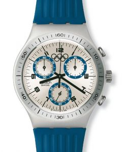 Swatch Irony Chrono Run Time YCS1009