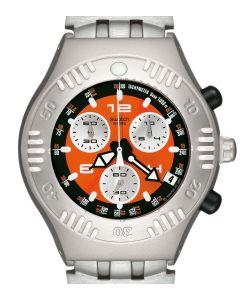 Swatch Irony Scuba 200 Chrono Satsuma YBS4006AG