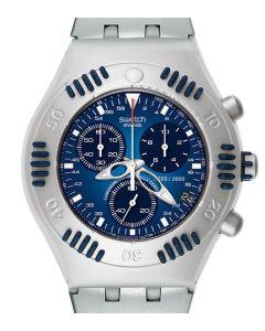 Swatch Irony Scuba 200 Chrono Sea Counter Chronometer YBZ4000AG