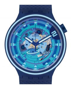 Swatch Big Bold Planets Second Home SB01N101