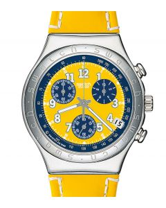 Swatch Irony Chrono Secret Agent Yellow YCS406D