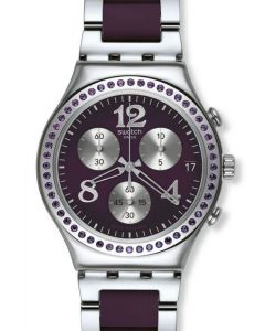Swatch Irony Chrono Secret Thought Aubergine YCS573G