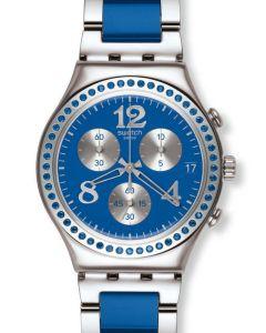 Swatch Irony Chrono SECRET THOUGHT BLUE YCS553G