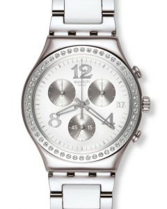 Swatch Irony Chrono SECRET THOUGHT WHITE YCS552G