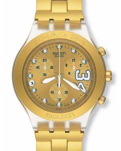 Swatch Irony Diaphane Chrono Shaq 34 Gold SVCK4008G