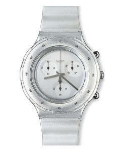 Swatch Aqua Chrono Silver SBM107
