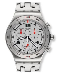 Swatch New Irony Chrono Silver Again YVS447G