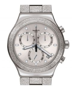 Swatch Irony New Chrono Silver Explosion YVS472G