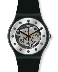 Swatch New Gent X-Mas Special SILVER GLAM SUOZ147