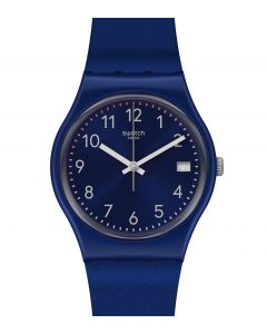Swatch Gent Silver In Blue GN418