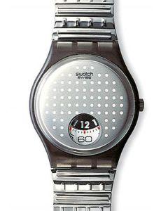 Swatch Gent Flex Silver Plate GM129
