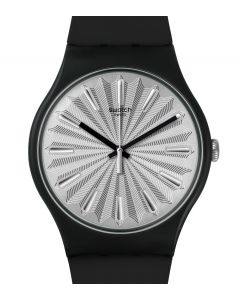 Swatch New Gent Silver Shield SUOB172