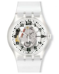Swatch Jelly in Jelly Access Snow Sphere Too SUMK200J-4