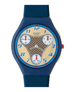 Swatch Skin Chrono Speed Game Blue SUYN103D