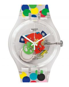 Swatch New Gent Special SPOT THE DOT by Alessandro Mendini SUOZ213