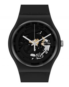 Swatch Originals New Gent Spot Time Black SO32B108