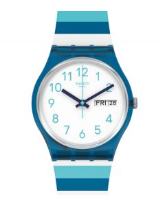 Swatch Gent Striped Waves GN728
