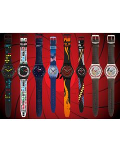 Swatch x 007 Collection 2020 Set