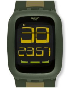 Swatch Digital Swatch Touch Olive & Light Green SURG101D