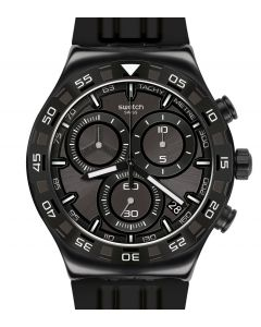 Swatch Irony New Chrono Teckno Black YVB409
