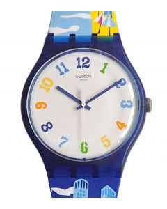 Swatch New Gent Destination Special Tel-Aviv Nonstop SUOZ309