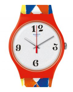 Swatch New Gent The Joe Tilson Venetian Watch SUOZ312S