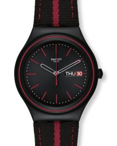 Swatch Irony Big The Prince of Red Stripe YGB7000