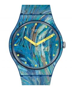 Swatch New Gent The Starry Night By Vincent Van Gogh SUOZ335