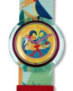 Pop Swatch THE WOODLEAKER PWV102
