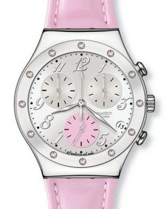 Swatch Irony Chrono Time in Rose YCS513