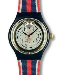 Swatch Automatic Time & Stripes SAN105