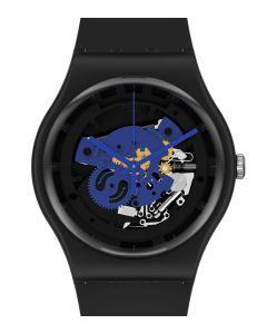 Swatch New Gent Bioceramic Time To Blue Big SO32B109