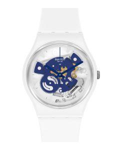Swatch Bioceramic Gent Time to Blue Small SO31W103