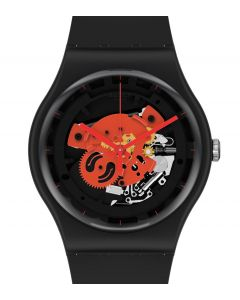 Swatch New Gent Bioceramic Time To Red Big SO32110