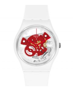 Swatch Gent Time To Red Small SO31W104