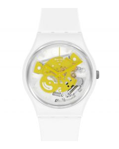 Swatch Gent Time To Yellow Small SO31W105