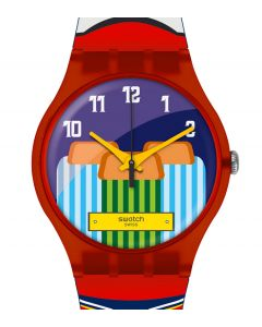 Swatch New Gent Destination Special Bangkok 2018 Tuk Tuk Sam-Lor SUOZ284