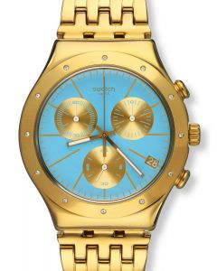 Swatch Irony Chrono Turchesa YCG413G