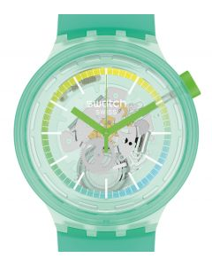 Swatch Big Bold Turquoise Pay! SO27L100-5300