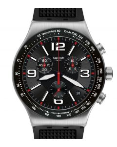 Swatch Irony New Chrono Very Dark Grid YVS461