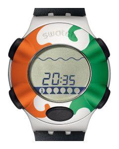 Swatch Irony .Beat Virtual Wave (Bezel Ivory Coast) YQS1003CC