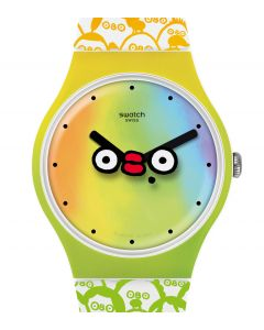 Swatch New Gent What Yo Face SUOZ303
