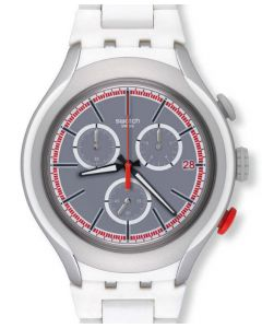 Swatch Irony XLite Chrono WHITE ATTACK YYS4019AG