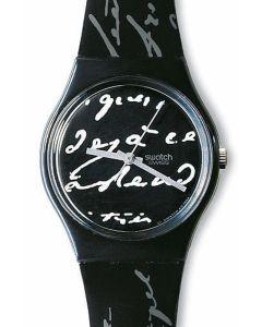 Swatch Gent WHITE WRITING GB165