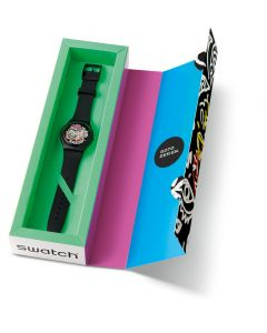 Swatch New Gent Artist Special WILD FACE SUOZ167