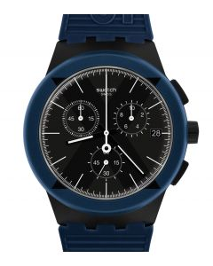 Swatch Originals Chrono Plastic X-District Blue SUSB418