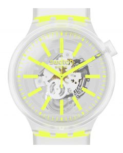 Swatch Big Bold Yellowinjelly SO27E103