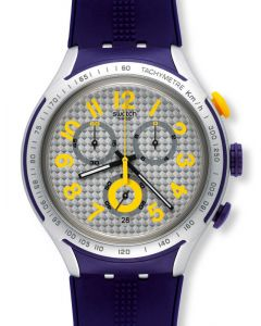 Swatch Irony XLite Chrono Yellow Pusher YYS4014
